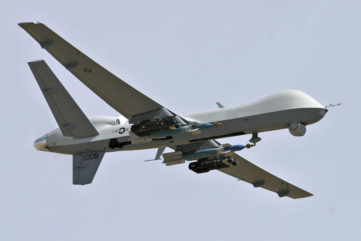 Unmanned aerial vehicles in the military