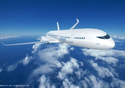 Engines will be more reliable, quieter, fuel-efficient and incorporated into the aircraft body.