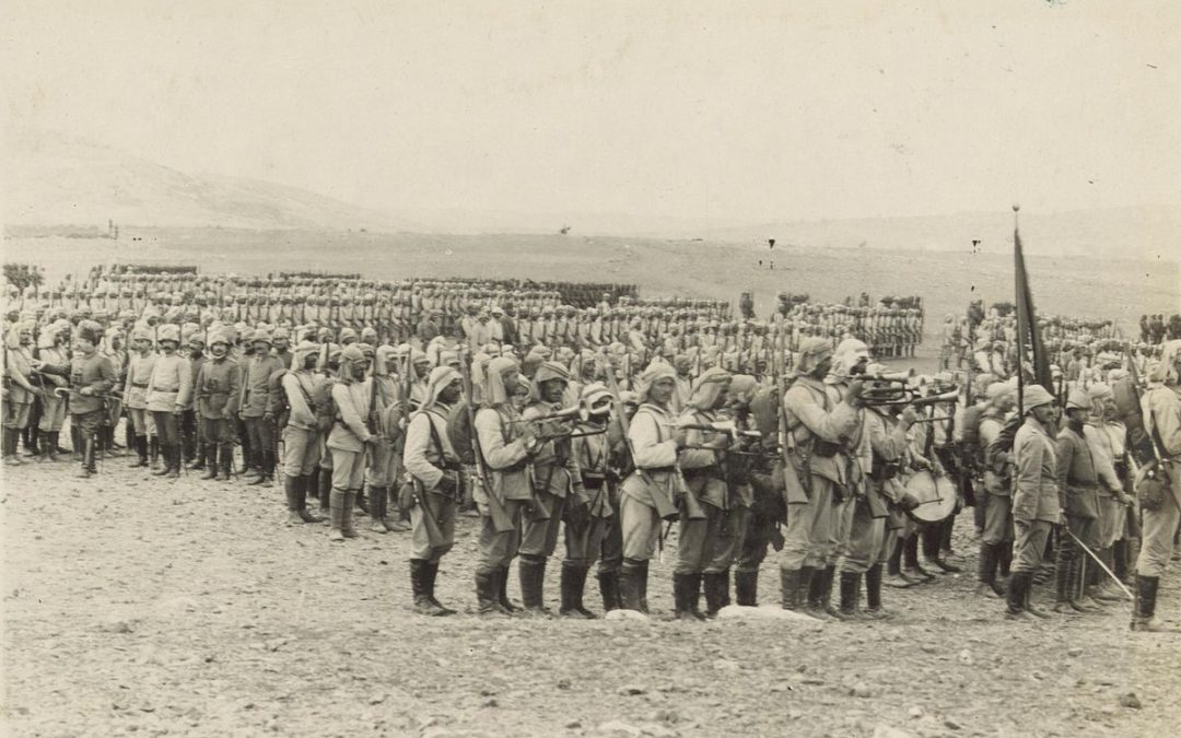 Ottoman Empire declares holy war in 1914